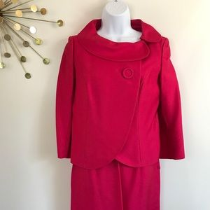 Vintage 1964 Jackie O style suit dress Size Small